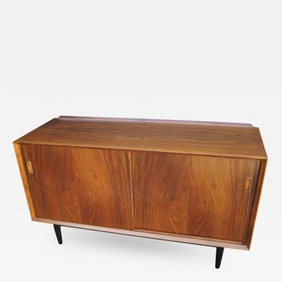 Arne Vodder Small Rosewood Credenza by Arne Vodder for George Tanier