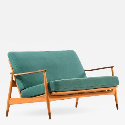 Arne Vodder Sofa Model 161 Produced by France Daverkosen