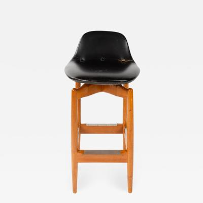 Arne Vodder Swiveling Bar Stool