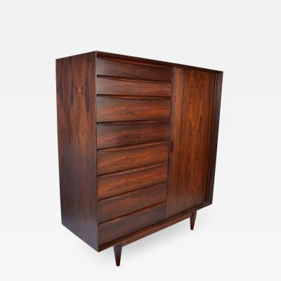 Arne Wahl Iversen Svend Madsen for Falster Rosewood Chest of Drawers