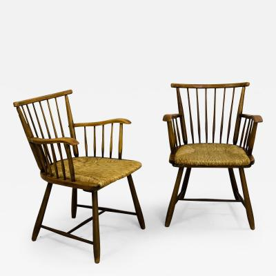 Arno Lambrecht Pair of Mid Century Chairs by Arno Lambrecht Germany