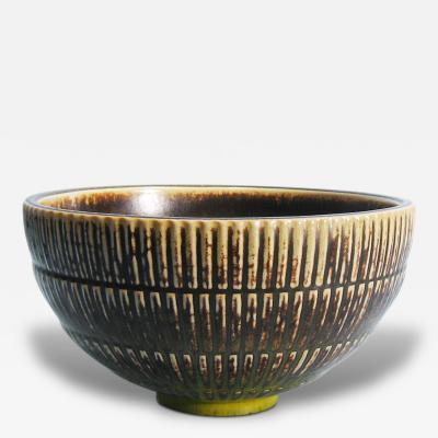 Arno Malinowski Large Bowl by Arno Malinowski 1899 1976 Denmark Royal Copenhagen 1940s