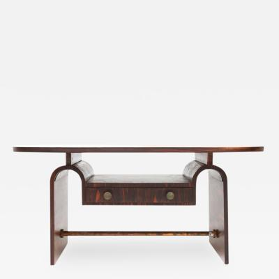 Arnold Bueno de Mesquita Macassar Table by Mesquita for Metz Co