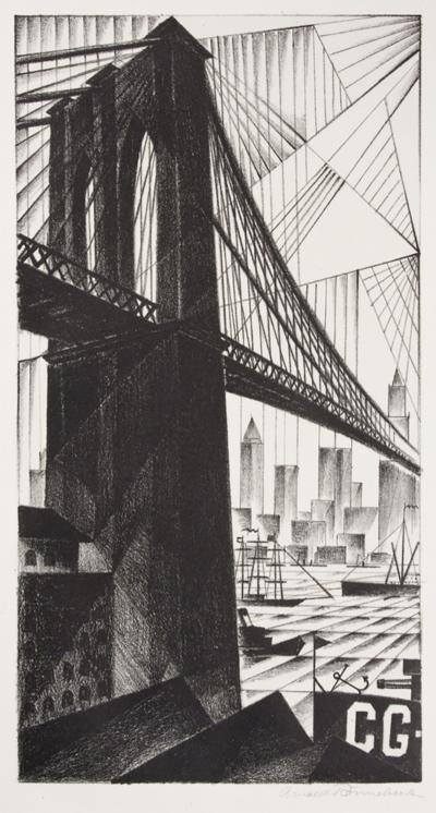 Arnold H Ronnebeck Brooklyn Bridge