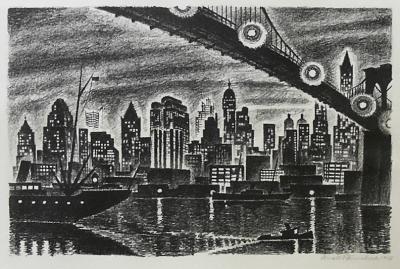 Arnold H Ronnebeck Skyline Also Manhattan