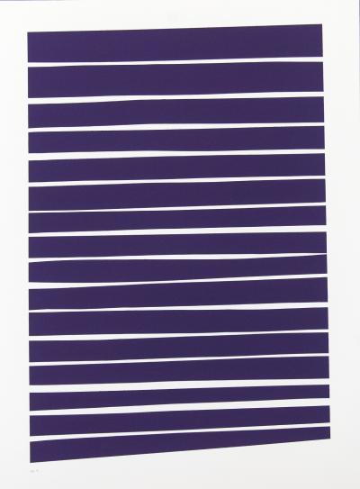 Aron Hill 16 Dark Violet Lines