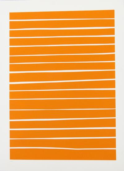 Aron Hill 16 Orange Lines