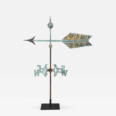 Arrow Weathervane with Original Directionals