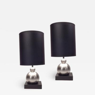 Art Deco Ball Lamps