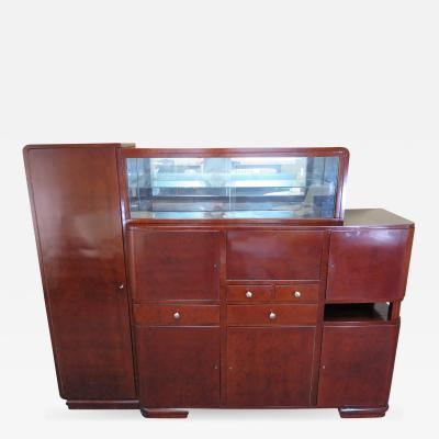 Art Deco Bar Cabinet Sideboard