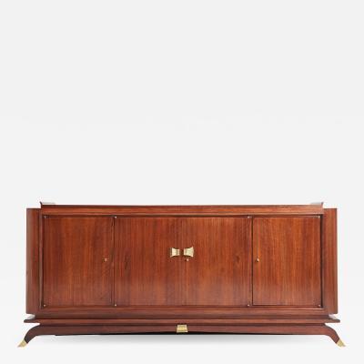Art Deco Bronze Mounted Walnut Sideboard