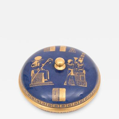 Art Deco Carltonware Covered Bowl with the Tutankhamun design