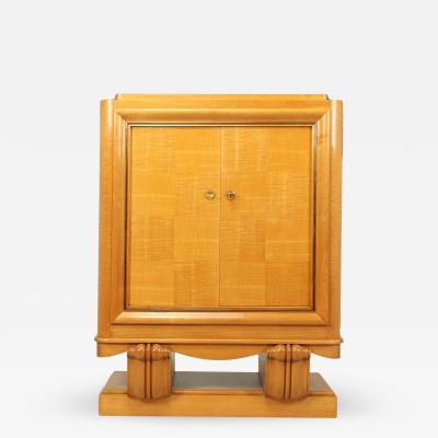 Art Deco Cocktail Cabinet in Sycamore