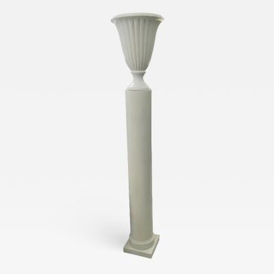 Art Deco Column Floor Lamp circa 1930 1940