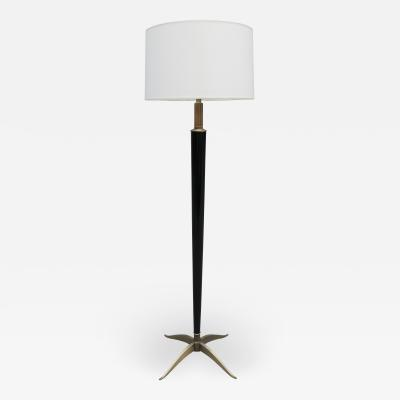 Art Deco Ebonized Floor Lamp by H Boinot