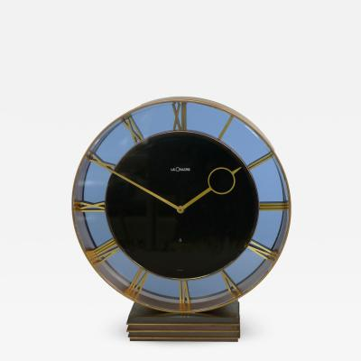 Art Deco Eight Day Clock by Le Coultre