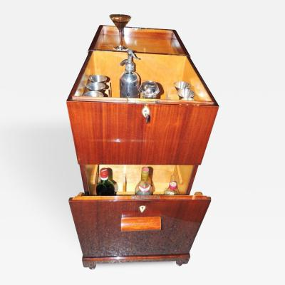 Art Deco Flip Top Cocktail Cabinet