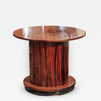 Art Deco Fluted Side Bar Table