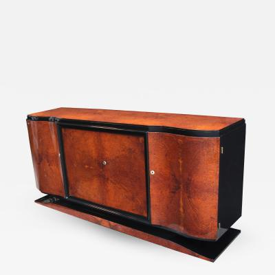 Art Deco Four Door Sideboard