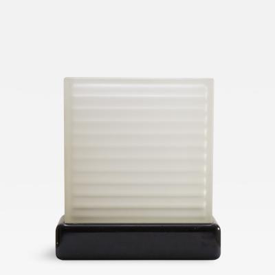 Art Deco Frosted Glass Accent Light