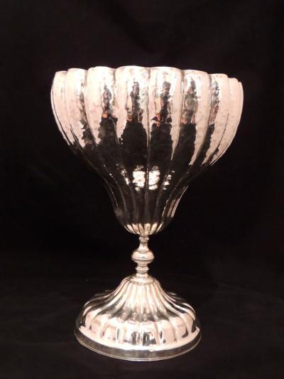 Art Deco Grand Silver Chalice