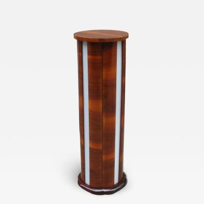 Art Deco Illuminated Pedestal