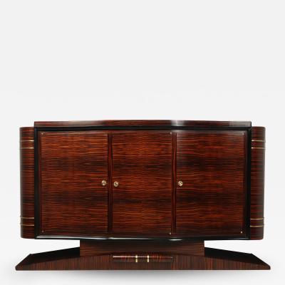 Art Deco Macassar Ebony Sideboard C1931