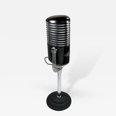 Art Deco Modernist Microphone Iconic