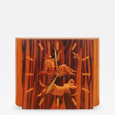 Art Deco Mythology Clock