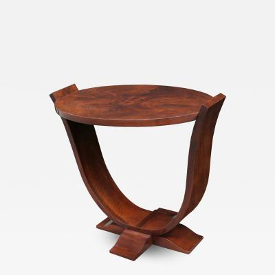 Art Deco Oval Side Table
