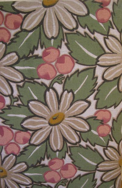 Art Deco Panel Large Daisies