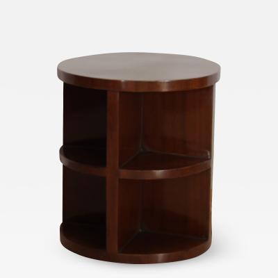 Art Deco Side Table Mahogany Veneer France circa 1930