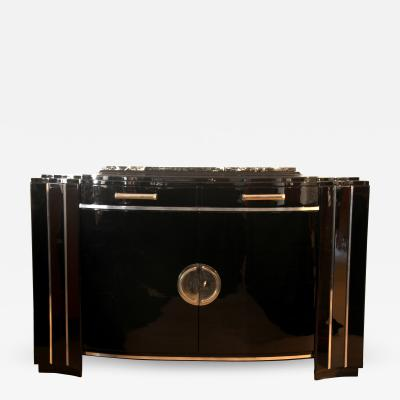 Art Deco Sideboard with Curved Front ca 1930