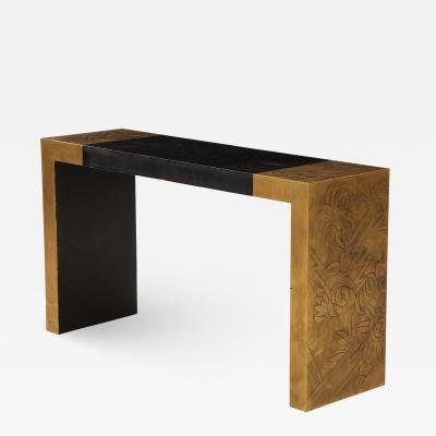 Art Deco Style Cosole Table