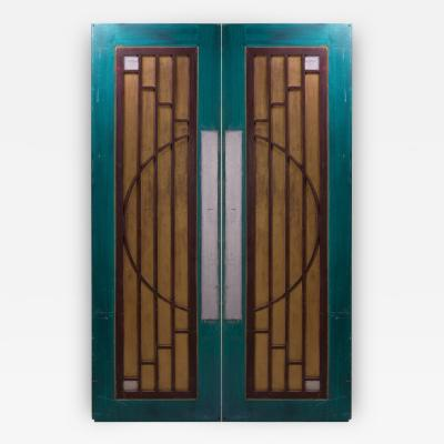 Art Deco Style Doors from Goodspeed Opera House A Pair