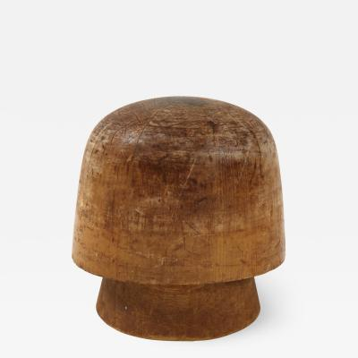 Art Deco Wooden Hat Form