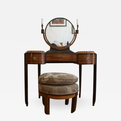 Art Deco dressing table with stool by Krieger circa 1925