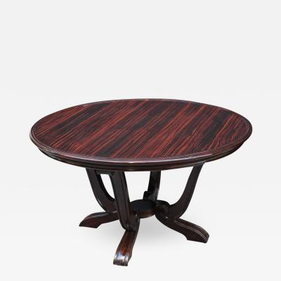 Art Deco round Cocktail Table