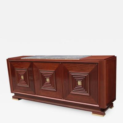 Art Moderne Three Door Sideboard