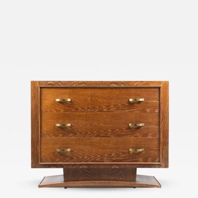 Art Moderne Three Drawer Commode