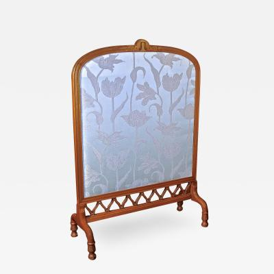 Art Nouveau Fireplace Screen Shop of Eugene Gaillard