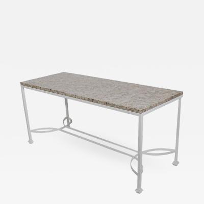 Art Nouveau Garden Table or Console Table