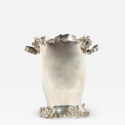 Art Nouveau Plated Cooler Ice Bucket