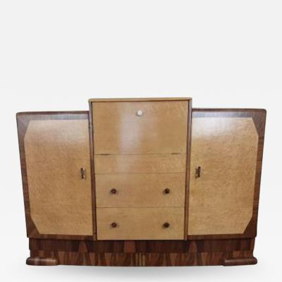 Art deco cocktail cabinet sideboard