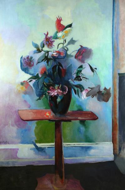 Arthur Beecher Carles Still Life Flowers