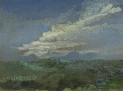 Arthur Bowen Davies Cloud Study