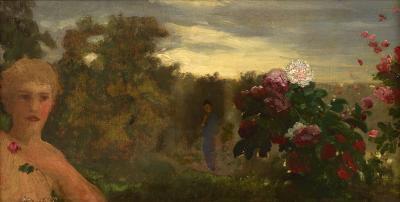 Arthur Bowen Davies June Roses