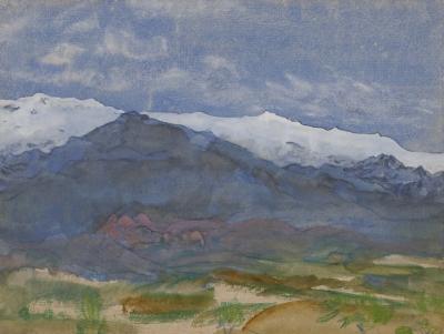 Arthur Bowen Davies Mountain Landscape