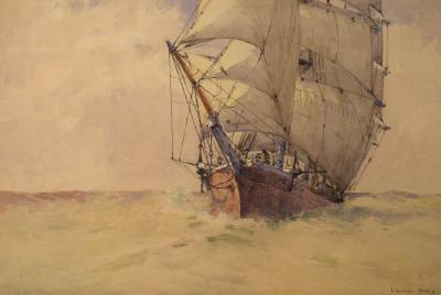 Arthur Briscoe On the High Seas
