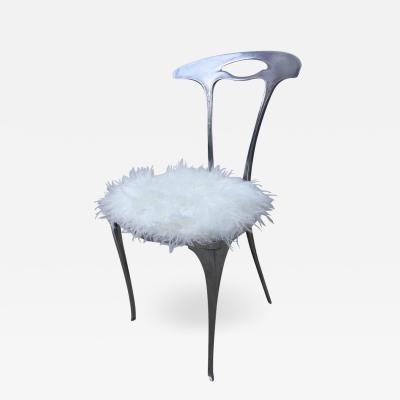 Arthur Court Arthur Court Aluminum Free Form Petite Modernist Chair